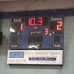 HAFTR Boys Junior Varsity Hockey beat Hanc High School 2-1 in OT