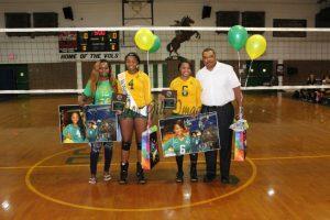 Jeff Davis Volleyball Senior Night