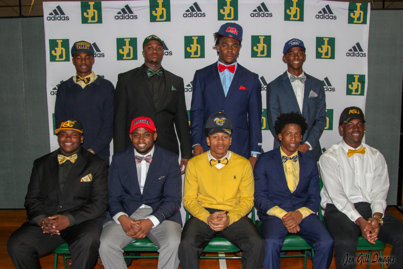 National Signing Day at Jeff Davis