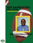 Jeff Davis Welcomes New Head Football Coach Rory Bell