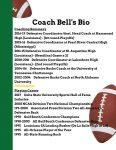 Coach Bell's Bio