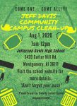 Jeff Davis Community Campus Cleanup 2020