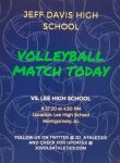 Varsity Volleyball Opens Today vs. Lee