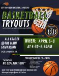 2021-22 Basketball Tryouts