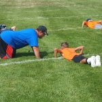 Junior High Football Practice – Day 1