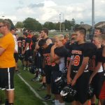 Junior High Football Scrimmage vs. Parkway