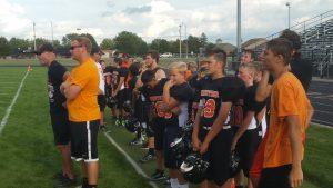 Junior High Football Scrimmage vs. Parkway