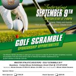 Athletic Boosters Golf Outing – 9/9/2017