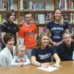 Cassie Francis Signs to Run at Xavier