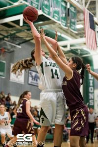 Payson vs Maple Mountain Girls Basketball 2015-16