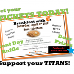 Breakfast with U! Meet Your Titan Athletes!!