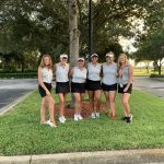 Girls Varsity Golf beats Father Lopez Catholic 162 – 191