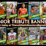 Senior Tribute Banners! Order TODAY!