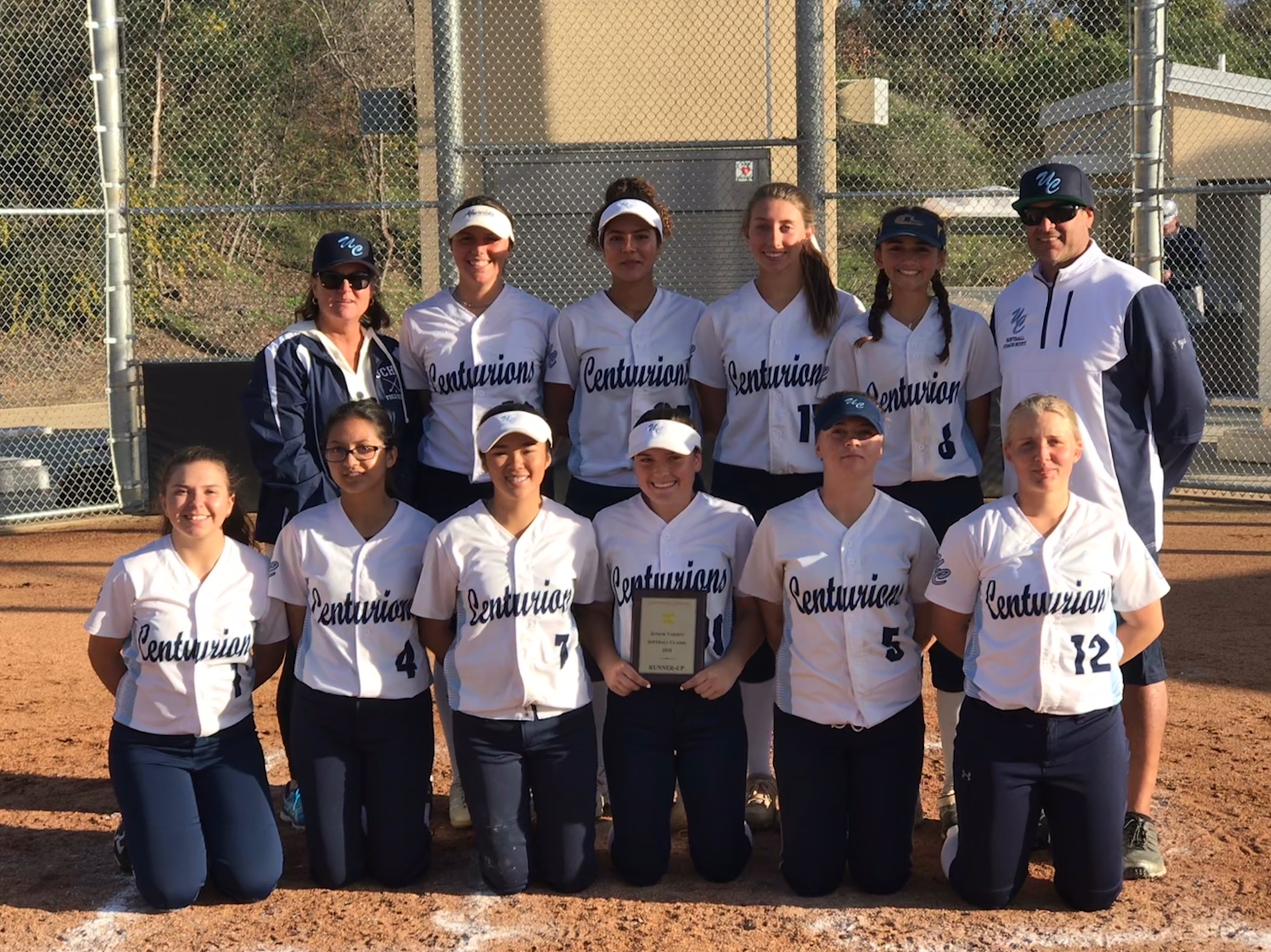 JV Softball takes second place in Cathedral Catholic tournament