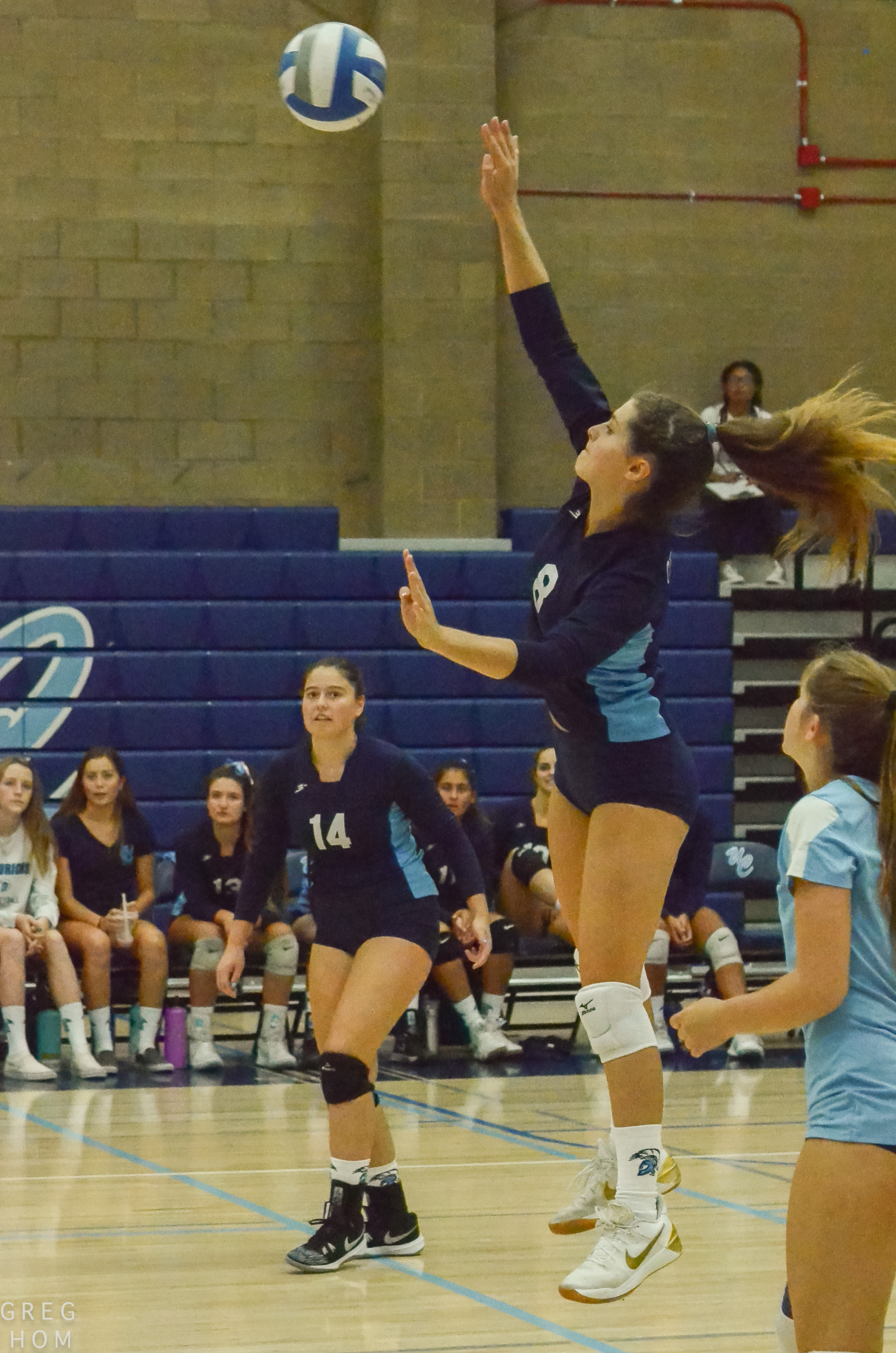 Volleyball vs OLP 9/20  pictures by Greg Hom