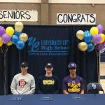 Three UCHS Football Players commit on National Signing Day!