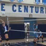 Girls Freshman volleyball loses a close battle to the OLP Pilots in 2