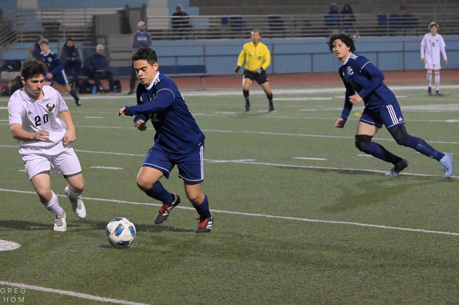 Boys Soccer victorious in first round CIF playoffs