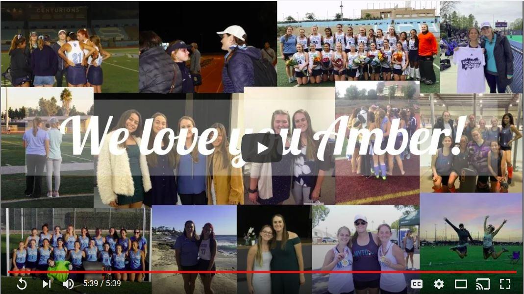 Thank You Coach Amber!