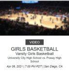 Girls Basketball takes on Poway (NFHS Live)