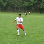 Santiago Leads Varsity Soccer To Victory
