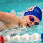 Girls Swimming & Diving win Lady Charger Relay Meet