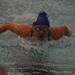 Girls Swimming & Diving win Belleville Quad Meet