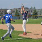 Varsity Baseball beat Salem High School 6-5