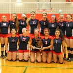 Varsity Volleyball vs. T. Kennedy – Districts Photos