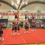 Varsity Cheer Wins Home Quad