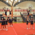 JV Cheer Dominates Home Match