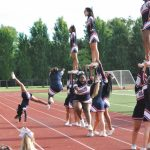 JV Cheer Wayne Game
