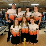 Girls Varsity Bowling finishes 1st place at Lakeland Invitational Tournament