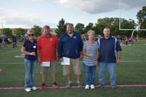 Varsity Football Parent Night August 30, 2018