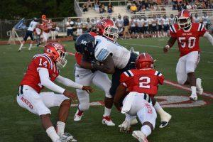 Varsity Football vs Stevenson August 30, 2018 Part 1
