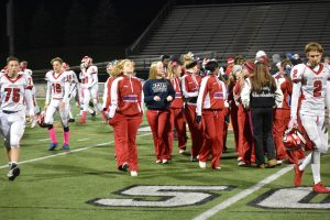 JV Cheer vs Northville October 18, 2018