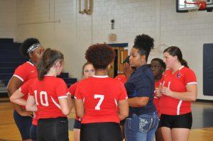 Trojan Volleyball vs. Spalding-08/11/2016