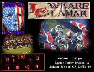 Trojan Football vs. Jackson