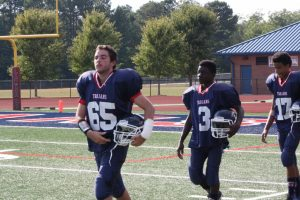 MS Football Trojans vs Monroe County 2016