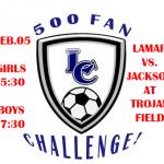 500 fan challenge