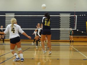 Capac Varsity Volleyball vs Lutheran North 2012