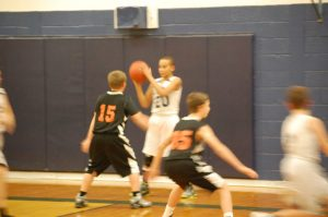 7th Grade basketball Armada 12-10