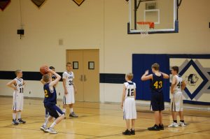 7th Grade boy's Basketball Yale 12-20