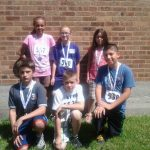 Capac 5th Graders place at Memphis 5K