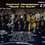 District #2 in a row