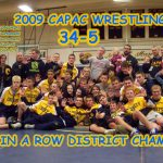 District #5 in a row