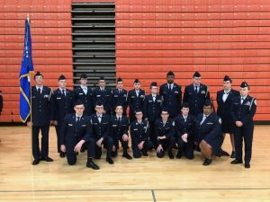 Westland AFJROTC Cadets Compete in Drill Competition