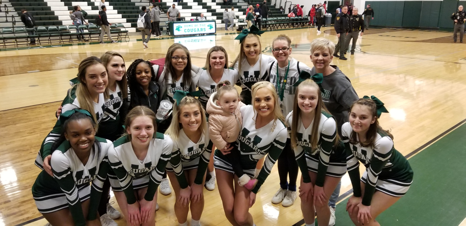 Westland Cheer Clinic and Try-Outs!