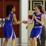 Girls Basketball Win Against Minnechaug
