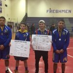 Wrestling Competes in Knight Hawk Tournament
